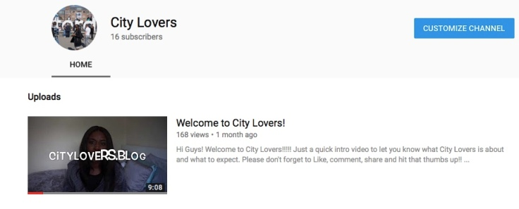 City Lovers Intro
